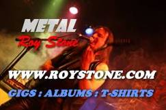 ROCK SINGER ROY STONE WWW.ROYSTONE.COM PROBABLY THE FASTEST LEAD GUITAR IN THE WORLD METAL SINGER ROY STONE WWW.ROYSTONE.COM PROBABLY THE FASTEST LEAD GUITAR IN THE WORLD